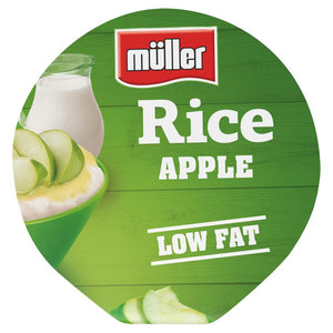 Müller Rice Apple Low Fat Pudding Dessert 180g - UCSFresh