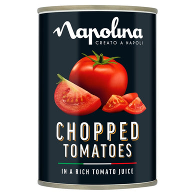 Napolina Chopped Tomatoes in a Rich Tomato Juice 400g - UCSFresh