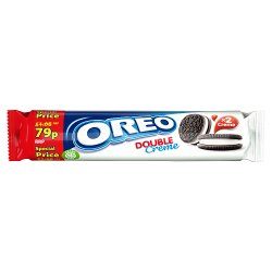 Oreo Double Creme Sandwich Biscuits 157g - UCSFresh