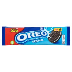Oreo Original Sandwich Biscuit Snack Pack 66g