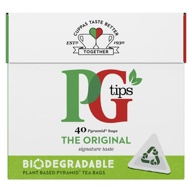 PG Tips Pyramid Tea Bags - UCSFresh