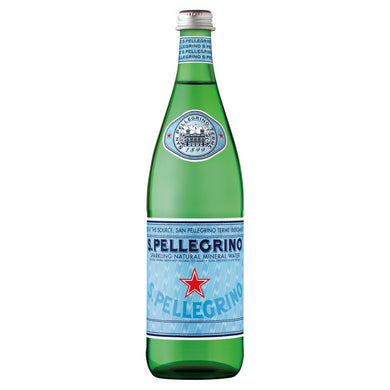 San Pellegrino Sparkling Natural Mineral Water 750ml - UCSFresh