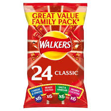 Walkers Classic Variety Pack - UCSFresh