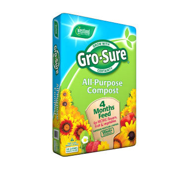 Westland Gro-Sure All-Purpose Compost - 50Ltr - UCSFresh