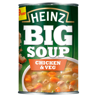 Heinz Big Soup Chicken & Veg 400g - UCSFresh