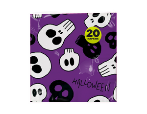 Halloween 3 Ply Napkins - 20 Pack - UCSFresh