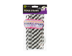 Halloween Paper Straws - 20 Pack - UCSFresh