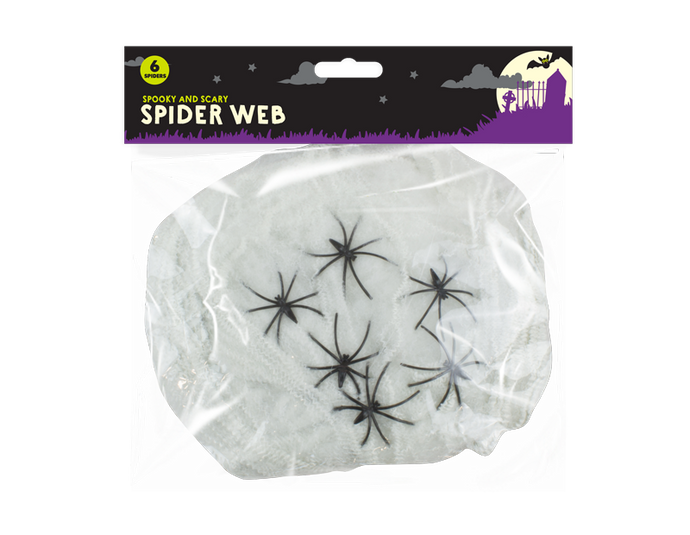 Halloween Spider Web Decoration - UCSFresh