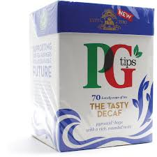 PG Tips the Tasty Decaf Pyramid Tea Bags - UCSFresh