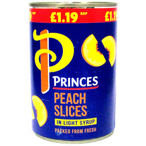 Princes Peach Slices in Light Syrup - UCSFresh