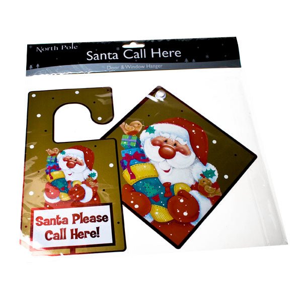 Santa Please Call Here Signs - Pack of 2 - UCSFresh