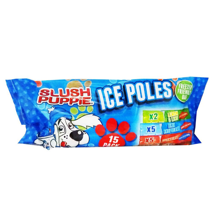 Slush Puppy Ice Poles - 15 pack - UCSFresh