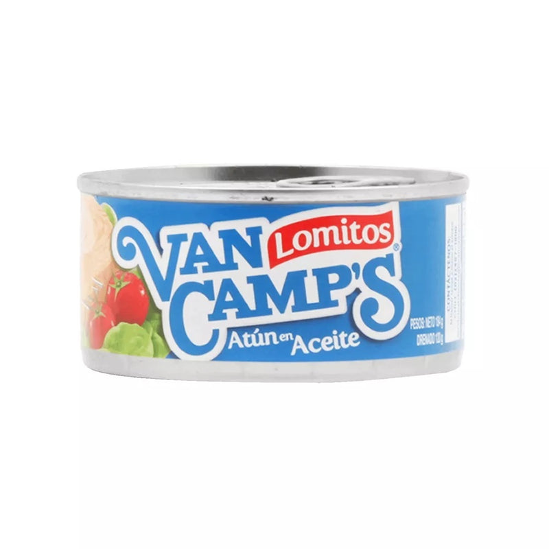 ATUN LOMITO ACEITE 160 GRS - VAN CAMPS