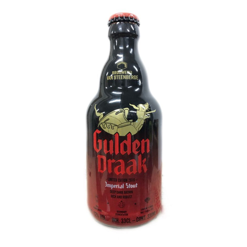 "CERVEZA GULDEN DRAAK ""IMPERIAL STOUT"" 330ML"