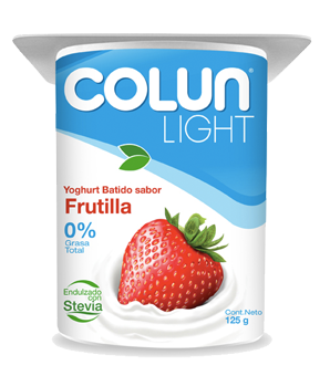YOGURT COLUN LIGHT FRUTILLA 125G