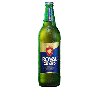 CERVEZA ROYAL GUARD 1 LT