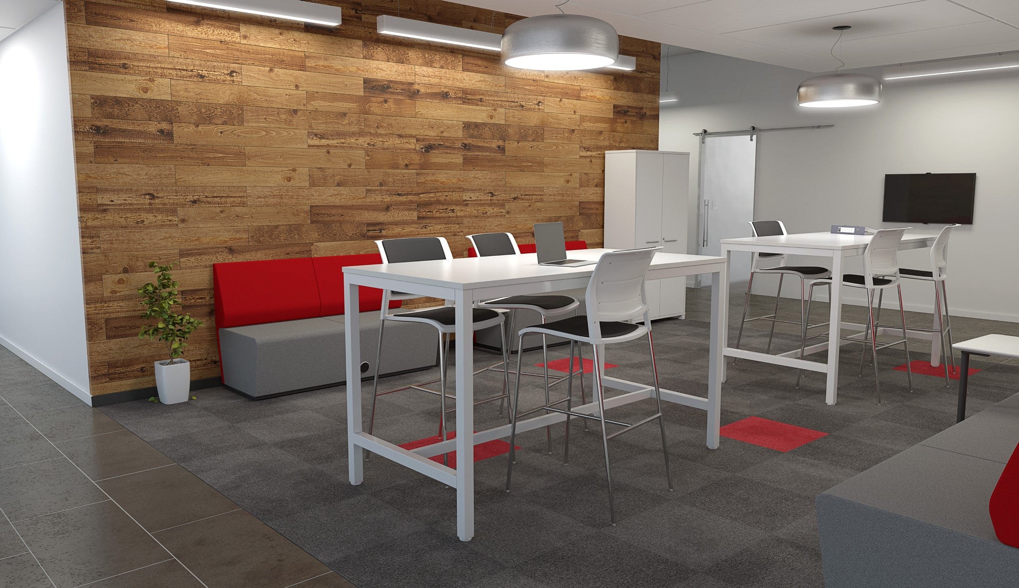 Axis Stand Up Meeting Table