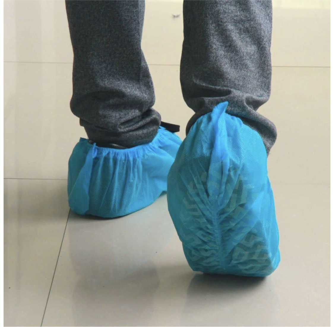100 Pack Premium Shoe Covers Disposable