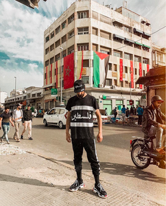 We head to Morocco with Mohcine with our Palestine Sublimated Cut & Sew Shirt