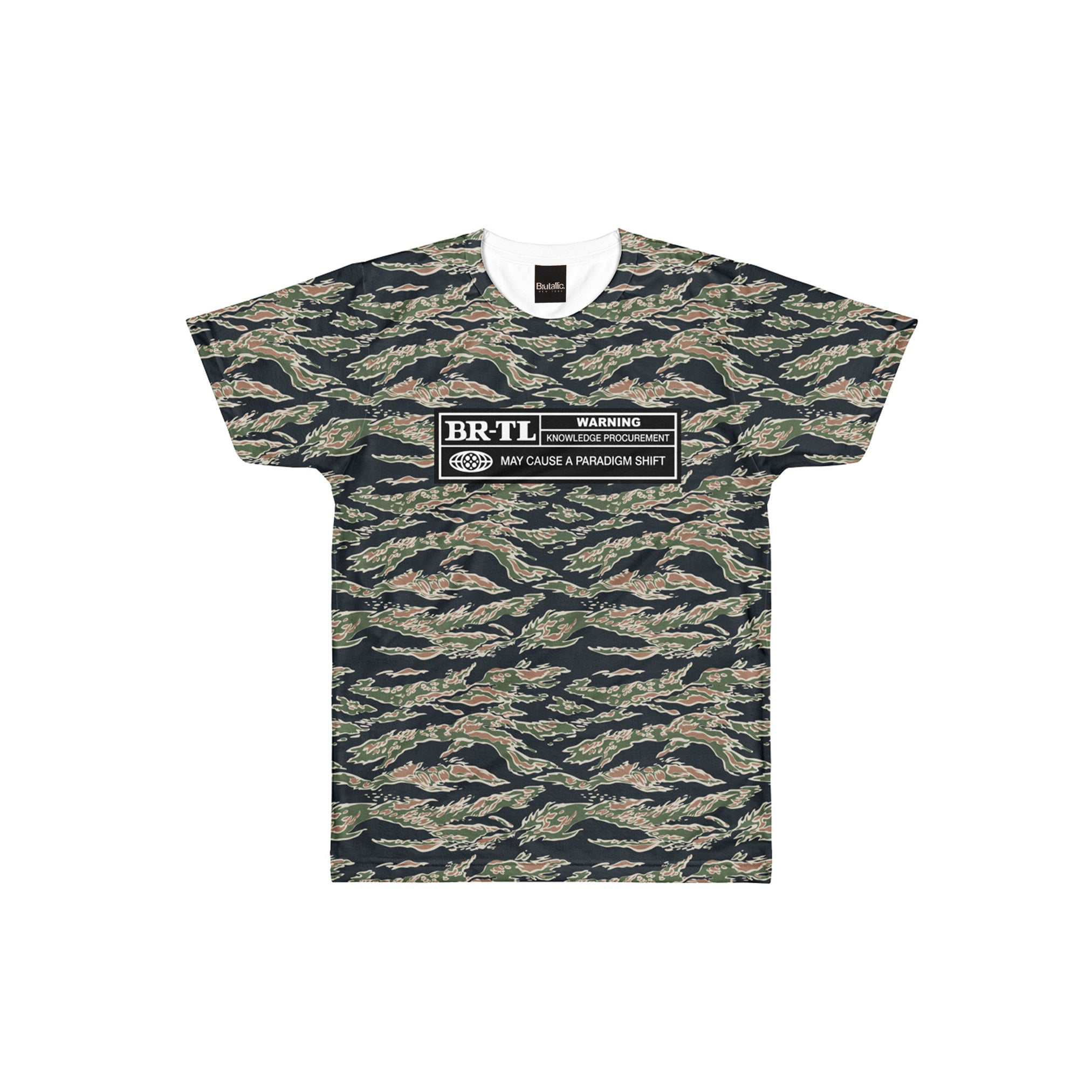 RATINGS CAMO CUT & SEW TEE
