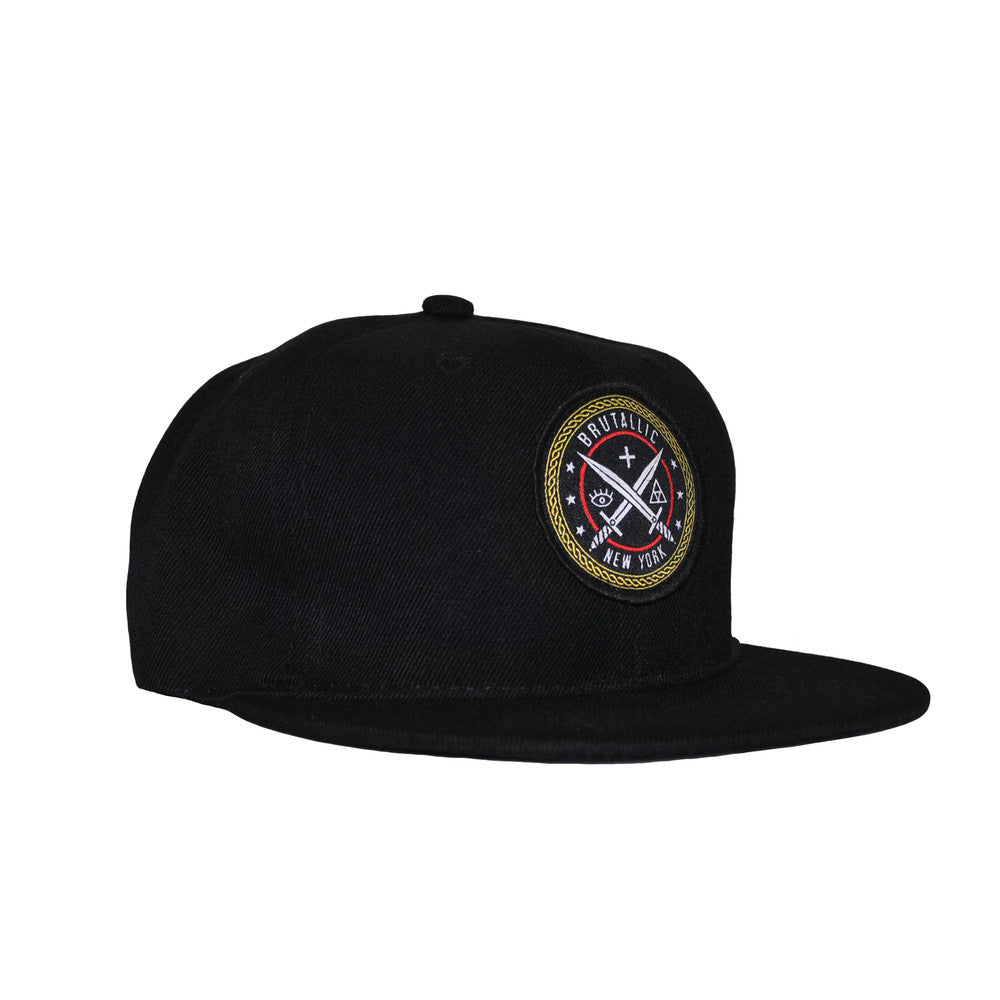 Cosmic Battle Snapback (Black) - Brutallic - 2