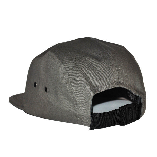 NY Jockey 5-Panel Hat (Grey) - Brutallic - 2