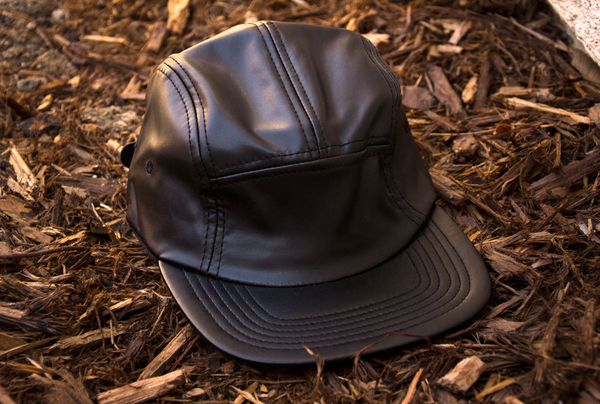 All Leather 5-Panel Hat - Brutallic - 3