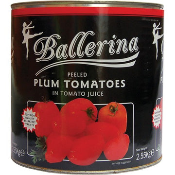 Tinned Tomato Whole - Catering Size