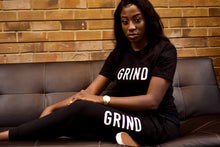 Load image into Gallery viewer, Women's GRIND Pullover & Sweatpants Set - Black - On The Grind