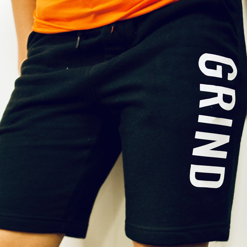 Black GRIND Sweatshorts - On The Grind