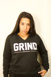 Women's GRIND Pullover & Sweatpants Set - Black - On The Grind