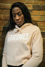 Load image into Gallery viewer, GRIND Crop Top Hoodie - Blush - On The Grind