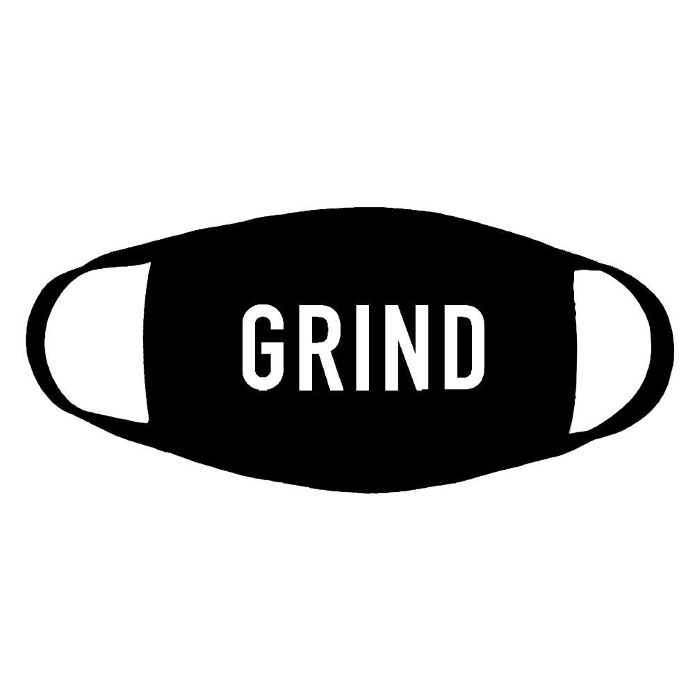 GRIND Logo Face Mask