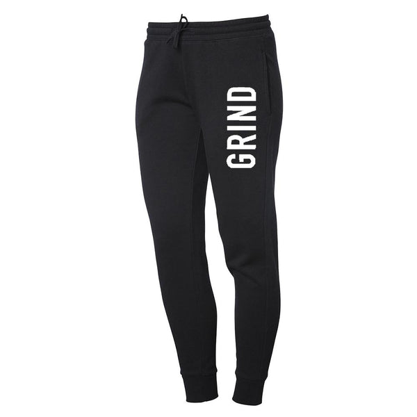 Men's GRIND Jogger Sweatpants - Black - On The Grind