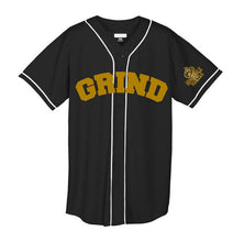 Load image into Gallery viewer, Customizable GRIND Jersey - Black/Gold