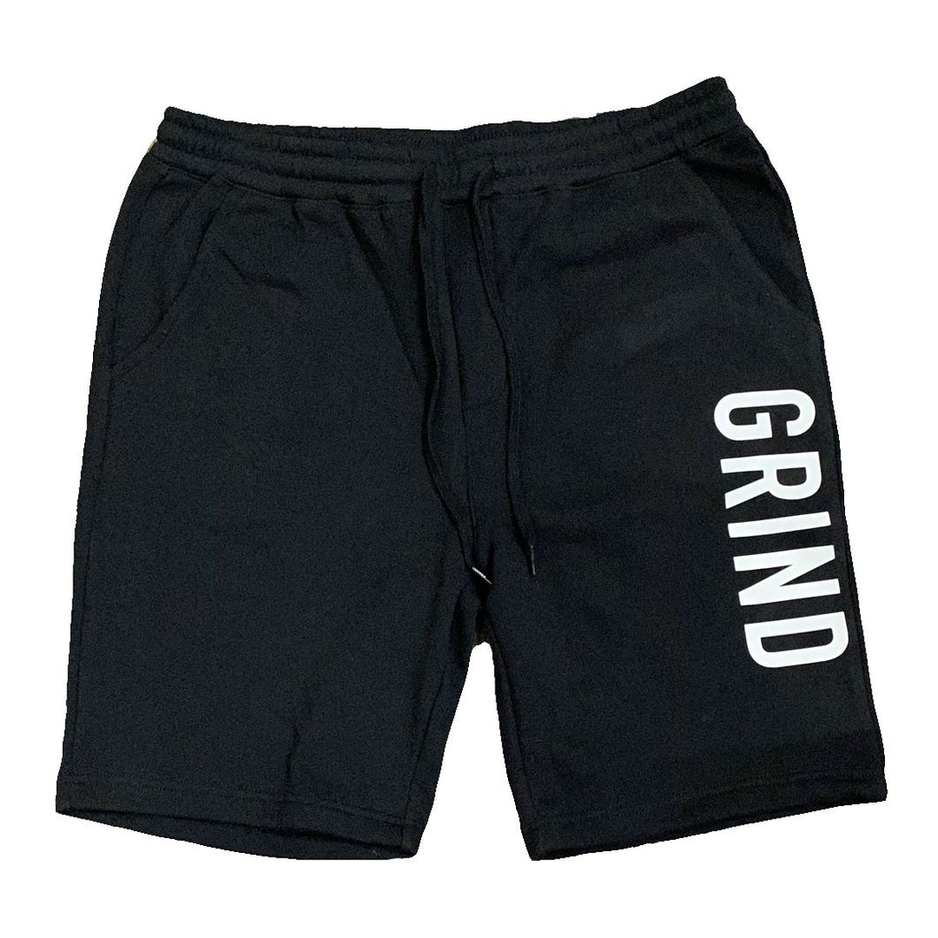 Black GRIND Sweatshorts