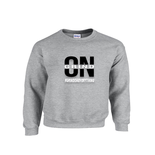 Exclusive Grey Grind On Everything Crewneck - On The Grind