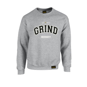 Grey Grind University Crewneck - On The Grind