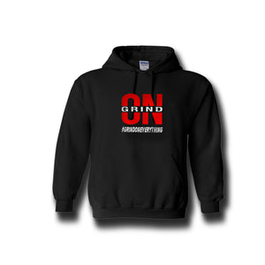 Black Grind On Everything Hoody - On The Grind