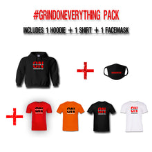 Load image into Gallery viewer, Grind On Everything Pack Hoodie Mask Shirt - On The Grind