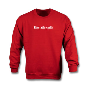 Honorable Hustle Crewneck Cherry Red - On The Grind