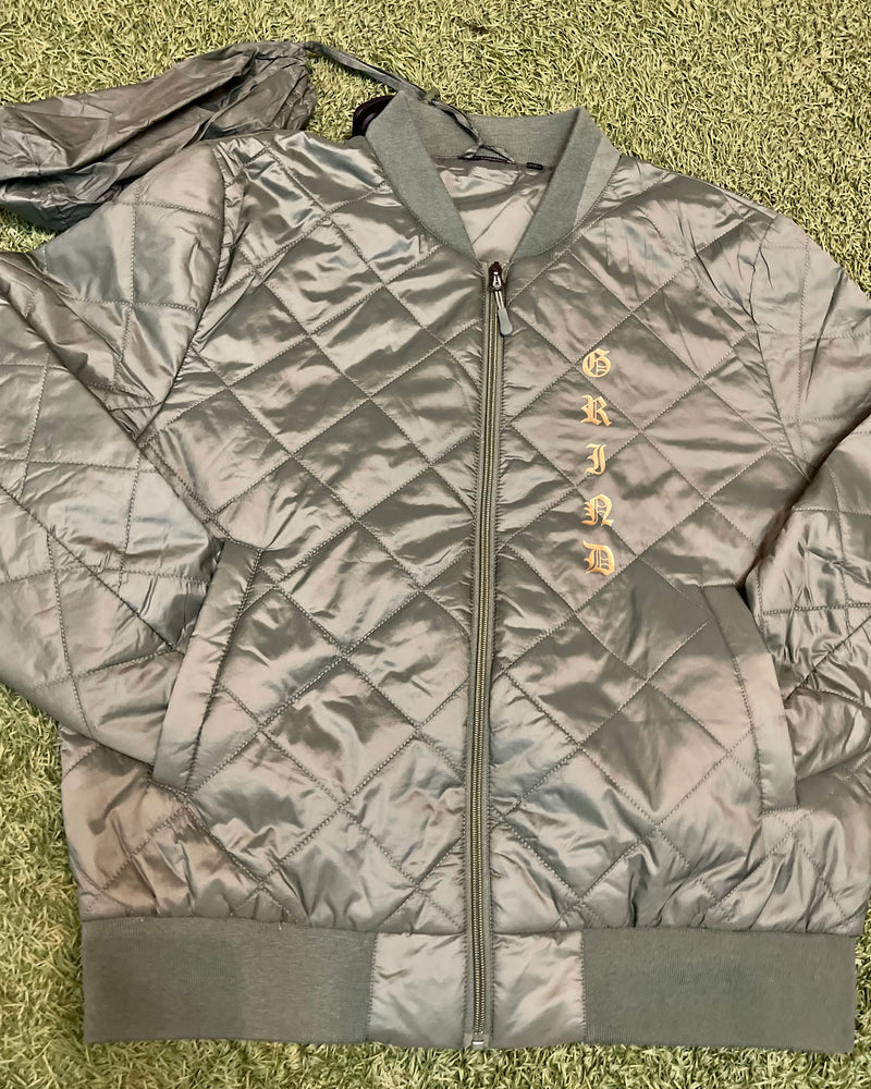 OG Quilted Bomber Jacket - On The Grind