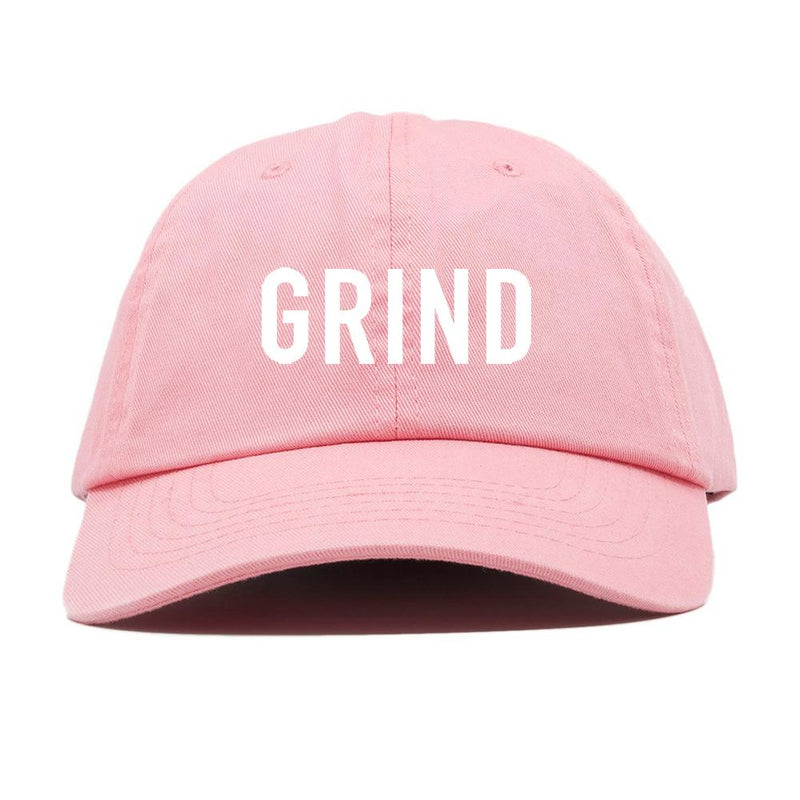 GRIND Dad Hat - Pink - On The Grind