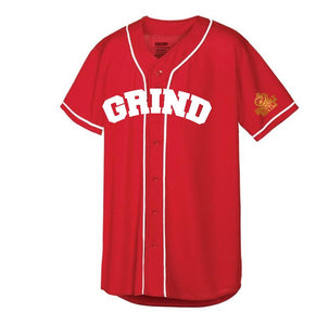 Customizable GRIND Jersey - Red/White