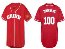 Load image into Gallery viewer, Customizable GRIND Jersey - Red/White