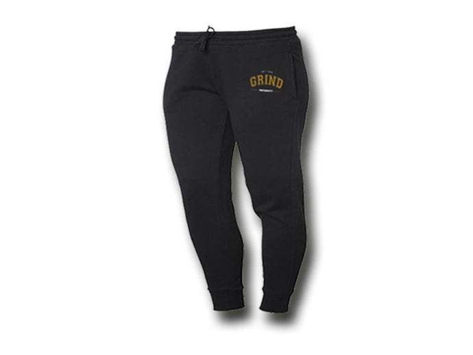 GRIND University Sweatpants Unisex - Black - On The Grind