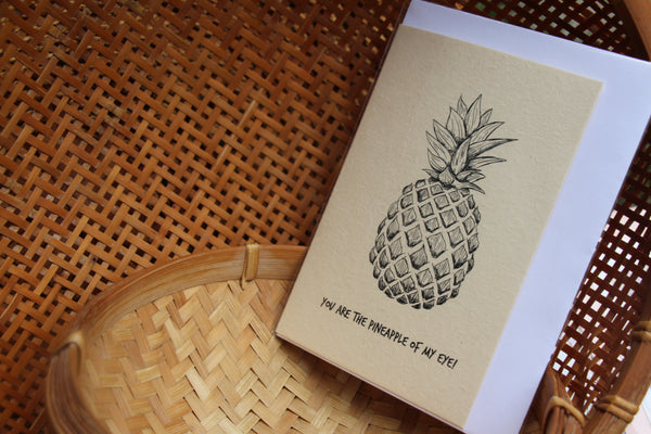 Card: Pineapple of my Eye