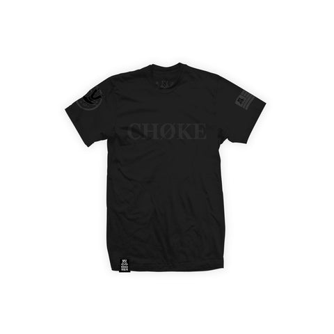 Newaza Apparel <br> Choke Tee <br> Black