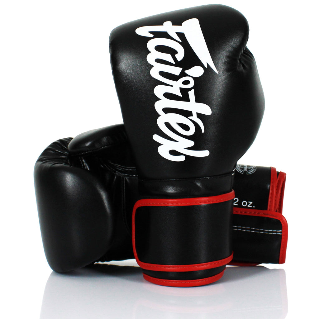 Fairtex <br> Microfibre Gloves <br> Black