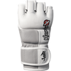 Hayabusa <br> Tokushu 4oz MMA Gloves <br> White/Slate Grey